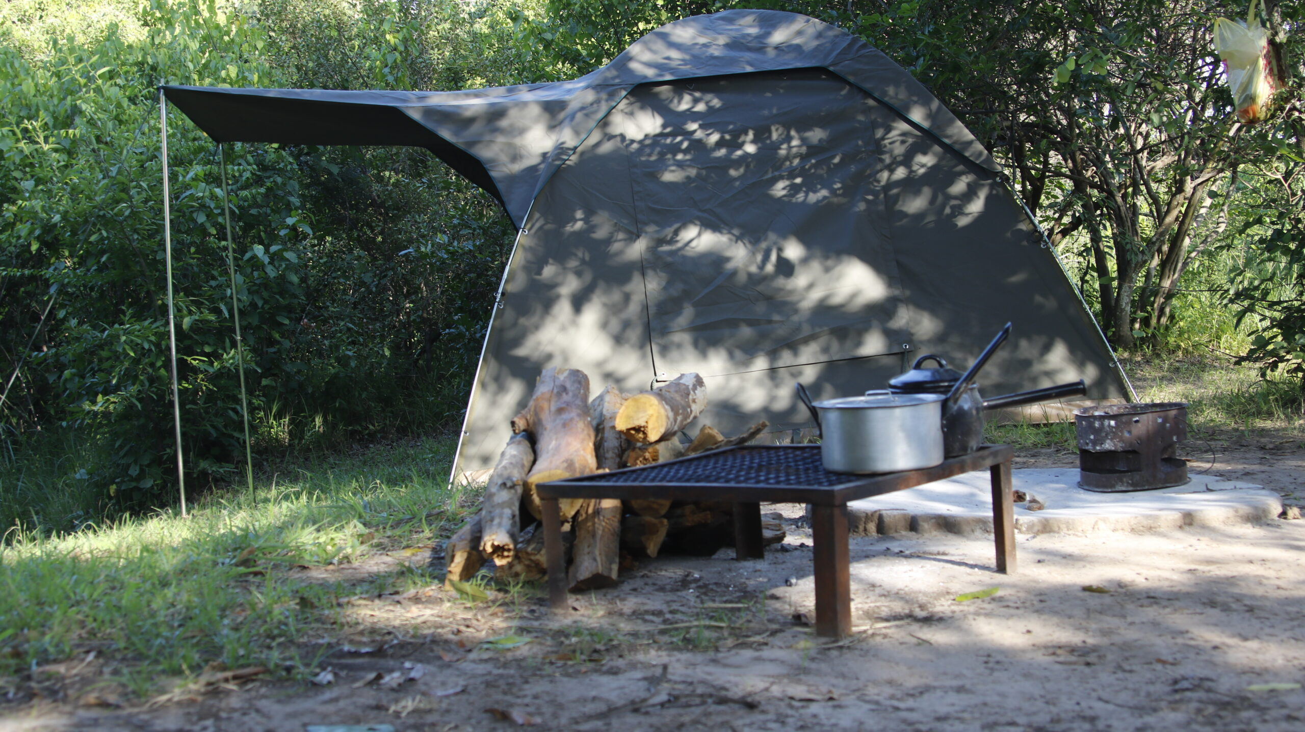 Camping in Kafue NP